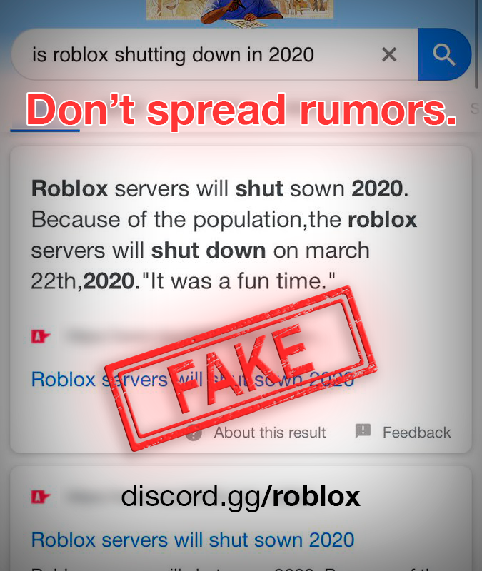 When Is Roblox Shutting Down For Good The Gamers Zone Announcements